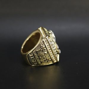 NFL Championship Ring Kansas City Chiefs Patrick Mahommes 2020 Gold