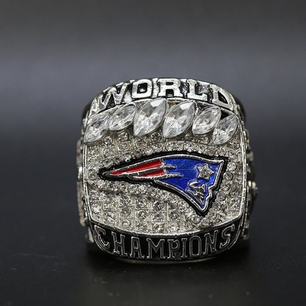 NFL Championship Ring New England Patriots Tom Brady 2018 MVP