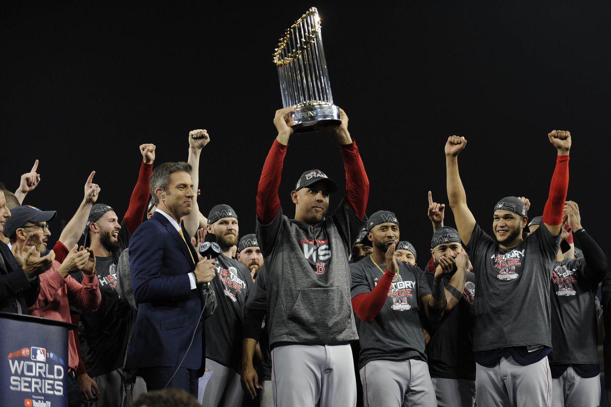 Boston Red Sox 2018 World Series Championships